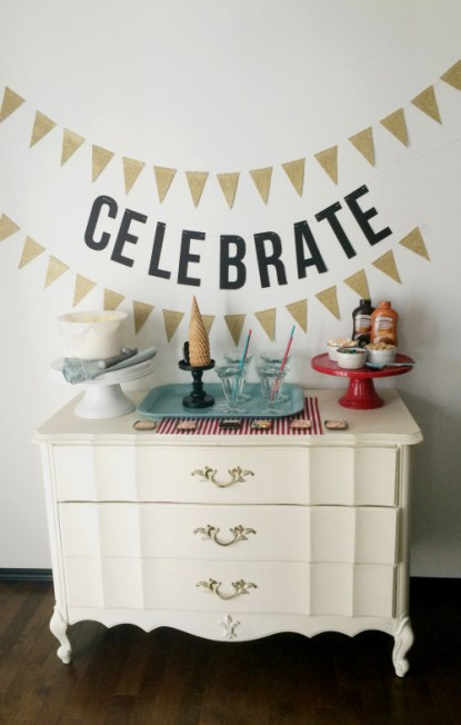 Make a Celebrate Banner with your Cricut Explore