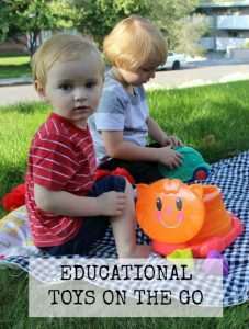 EDUCATIONAL TOYS ON THE GO