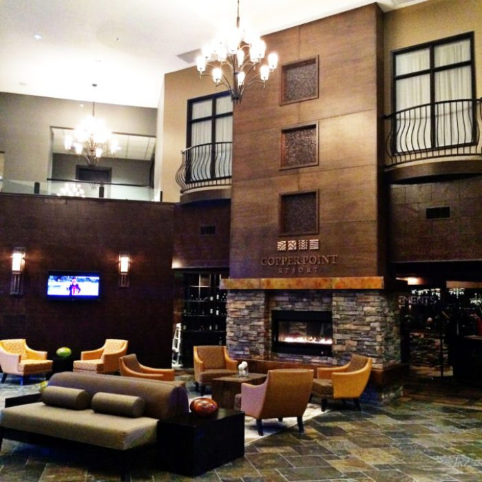 Copper Point Resort Lobby