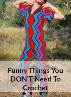 THINGS WE DON'T NEED – FUNNY CROCHET