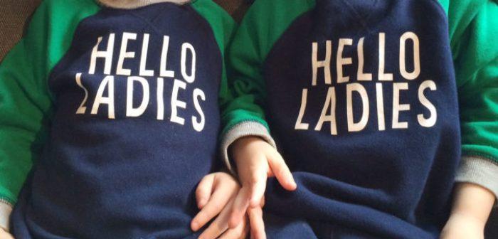 DIY Shirts Hello Ladies