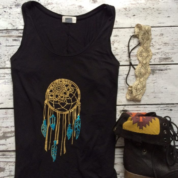 Dream Catcher Shirt - DIY Shirts