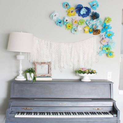 Spring Decor Projects #DIYmyspring