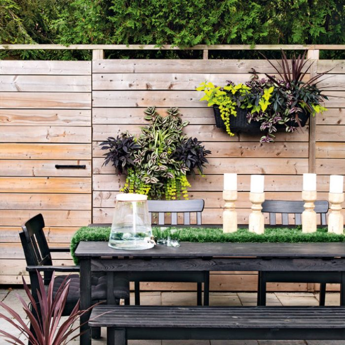 Gardening For Beginners - wall hanging planters on fence
