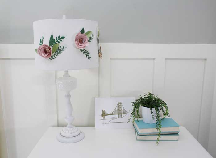 Paper-Flower-Lamp-Shade