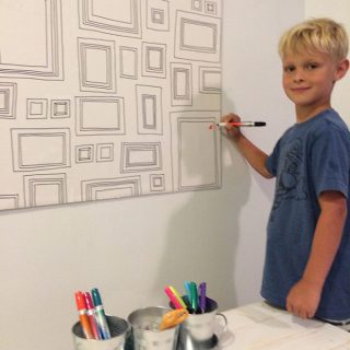 Play Room Dry Erase Art Wall #offthewall