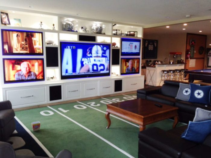 Dallas Cowboys Yardline Carpet