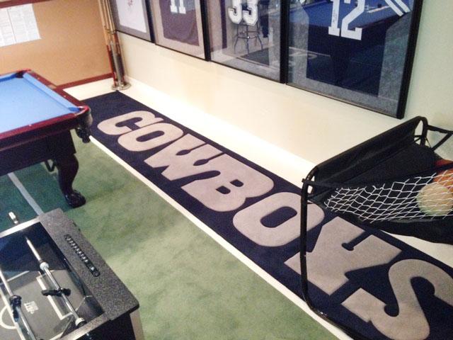 Dallas Cowboys carpet