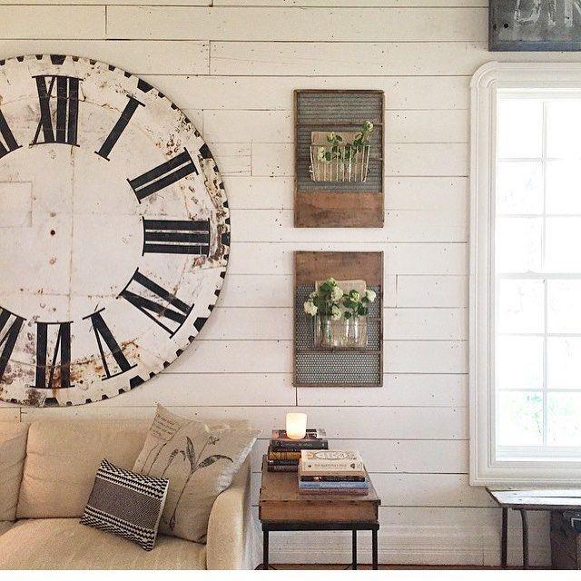 Magnolia Homes Farmhouse Style Clock