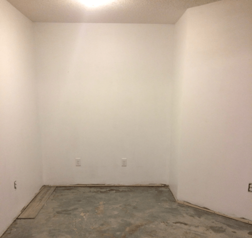 Bare Concrete Floors