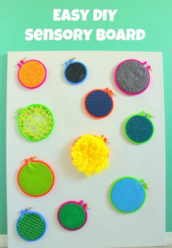 Crafts For The Un Crafty Diy Sensory Wall For Babies