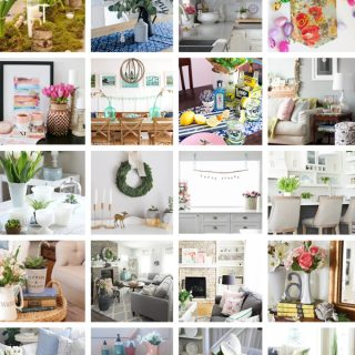 3 Ways To Add Spring To Your Home Decor – Canadian Bloggers SPRING 2017 Home Tour!