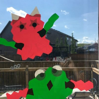 Window Cling Games For Kids