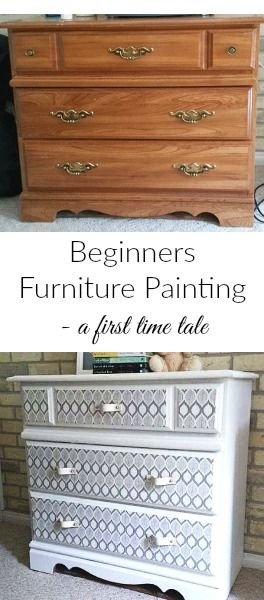BEGINNERS FURNITURE PAINTING
