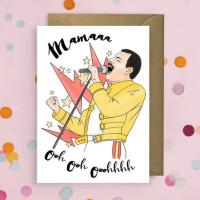Bohemian Rhapsody Mother's Day Card