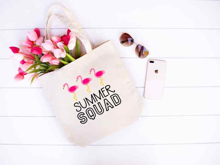 Flamingo Summer Squad - Free Summer SVG File