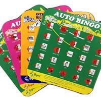 Travel Bingo 4 Packs