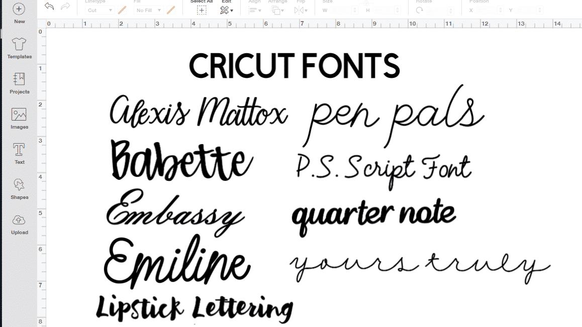 Download Best Cricut Access Fonts - Brooklyn Berry Designs