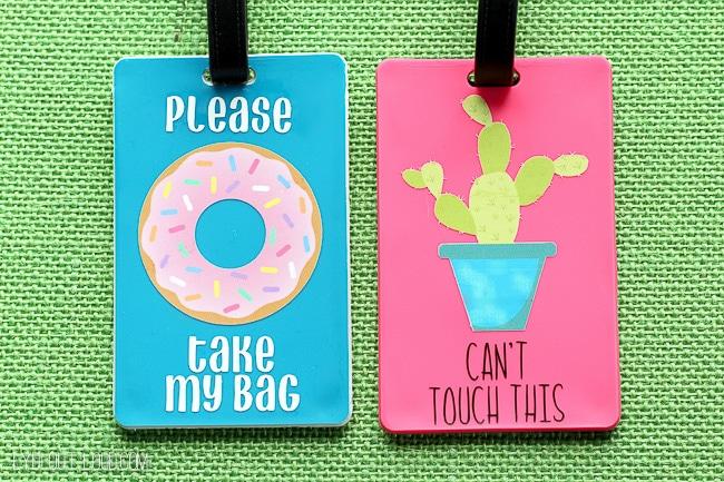 DIY Luggage Tags (That Talk)