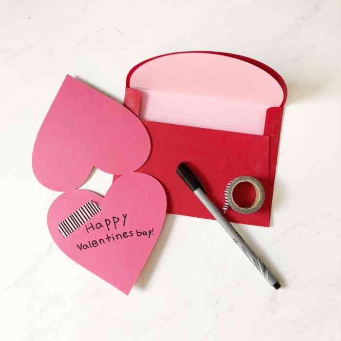 Easy DIY Valentines cards