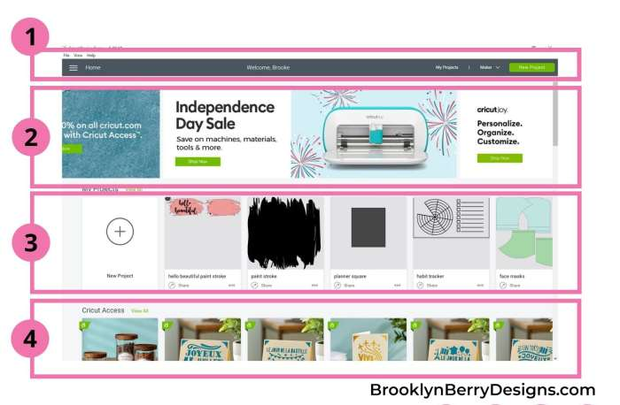 Cricut Design Space For Beginners Brooklyn Berry Designs