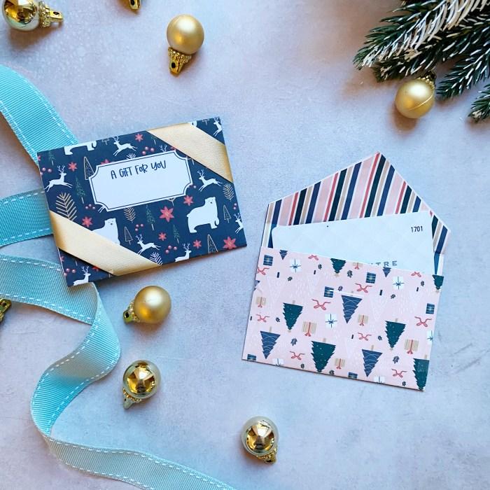 Free Printable Gift Card Holder