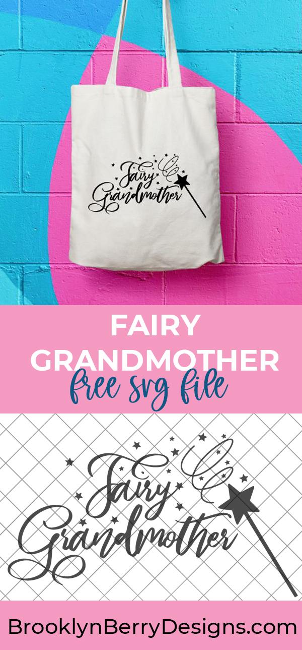 Fairy Grandmother SVG via @brookeberry