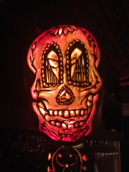 Brooklyn Cantina watermelon carving by Hugh McMahon