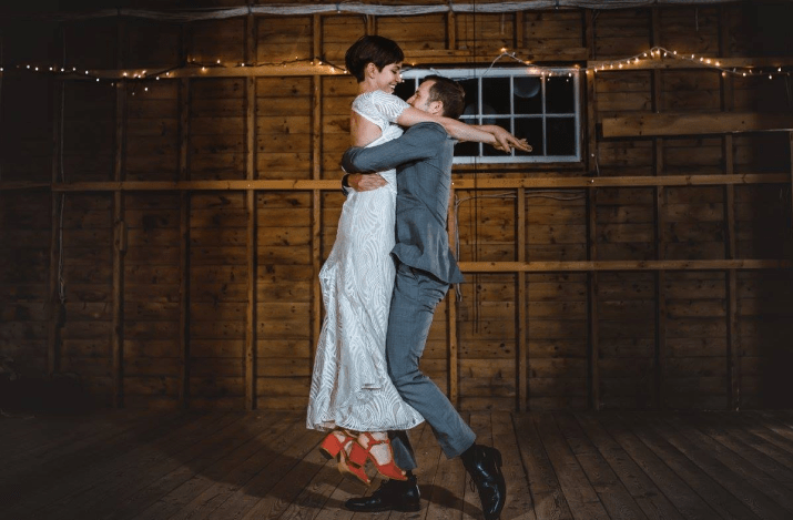 Nora and John's first dance. Wedding routine choreographed by Brooklyn Dance Lessons.