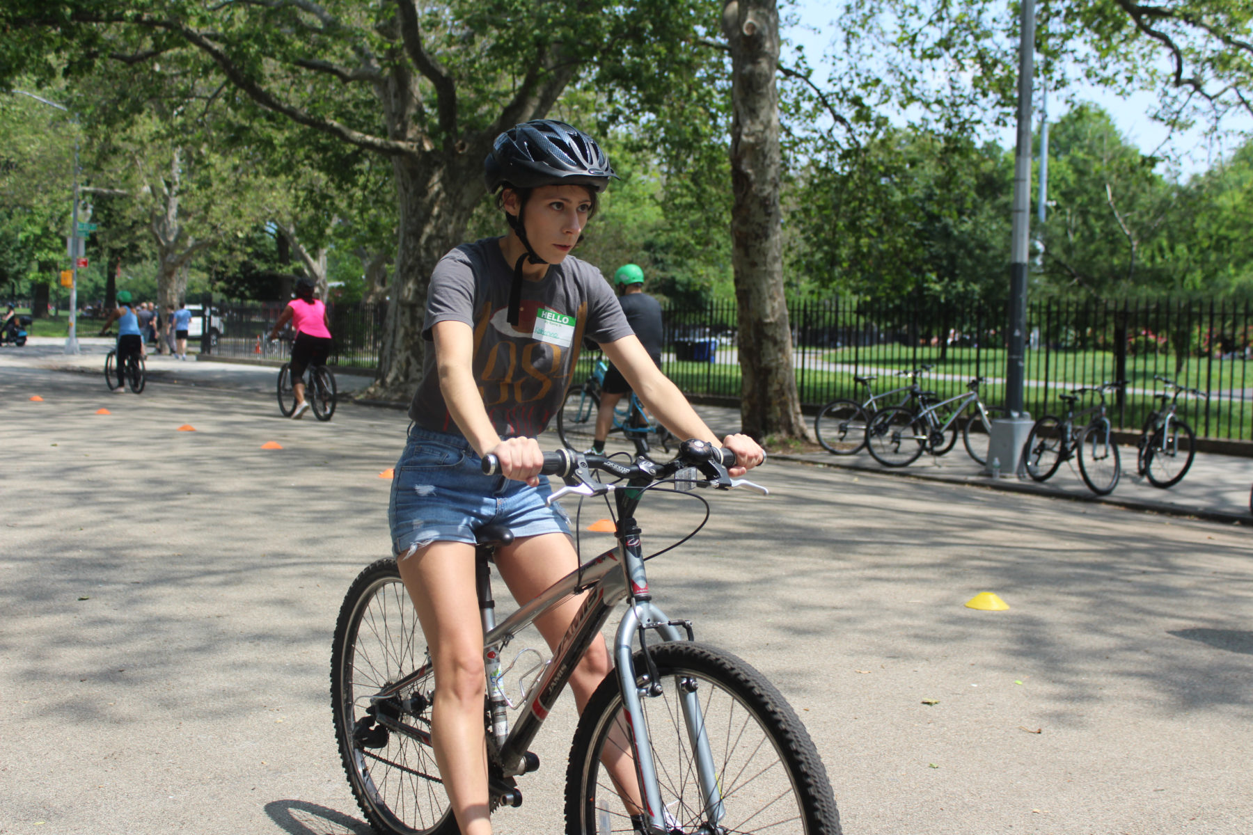 Confidence On Wheels Brooklyn S Bike Classes For Grown Ups