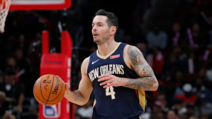 JJ Redick has converted 8 of 15 three-point attempts over three exhibition games.