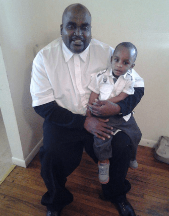 Victim Terence Crutcher with a family member