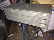 SMALL PARTS CABINET