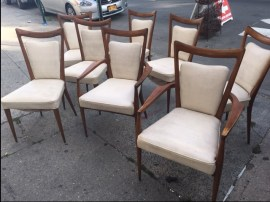 MID CENTURY MODERN ROSEWOOD CHAIRS