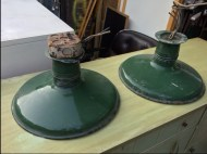 industrial-green-lamps