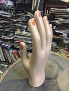 ANTIQUE CERAMIC HAND