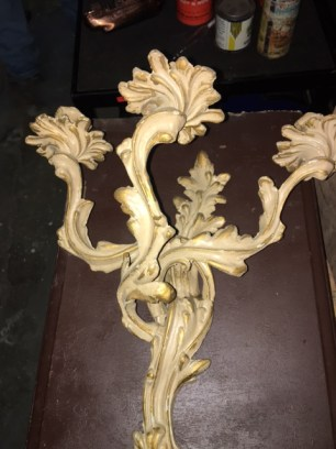 CANDLE STICK SCONCE