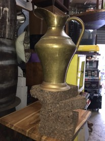 LARGE BRASS PIRCHER MADE IN SPAIN