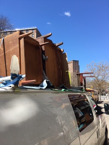 TRUCK LOADED WITH STUFF