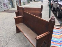 CHURCH PEW 2