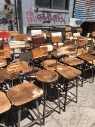 LOTS OF INDUSTRIAL STOOLS