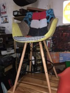 MID CENTURY CHAIR TALL