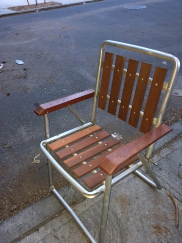 MID CENTURY OUTDOOR CHAIR