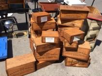 VINTAGE WOOD BOXES