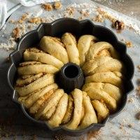 walnut schnecken bundt cake #bundtbakers