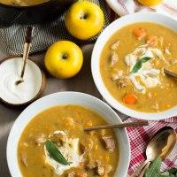 Pork & apple stew