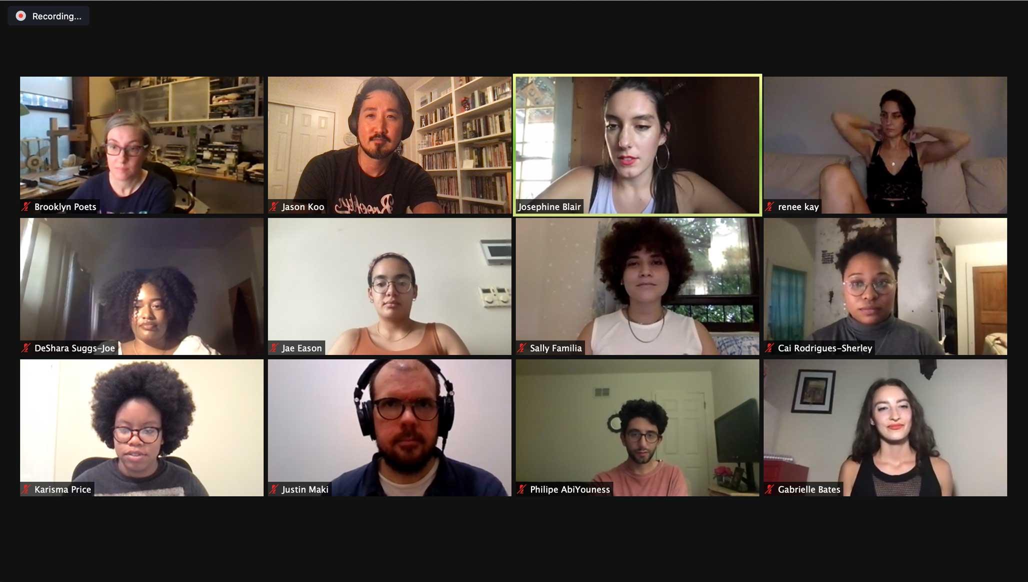 Brooklyn Poets Staff Picks 7.8.21
