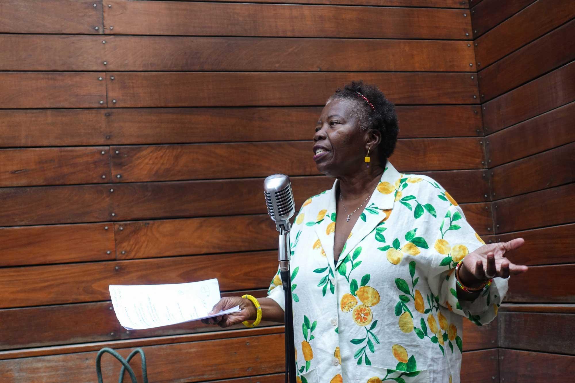 Cheryl Boyce Taylor at the Brooklyn Poets Reading Series 7.18.21