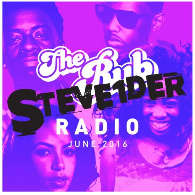 Photo of Rub Radio (June 2016) w/ STEVE1DER
