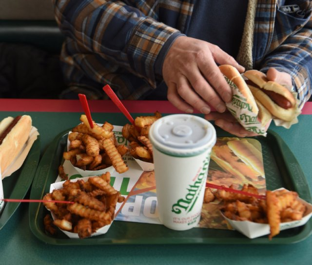Dog Gone Nathans Famous Serves Last Franks On Th Street Locals Look Back On Decades Of Memories